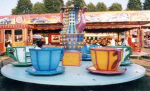 Cups and Saucers fairground ride