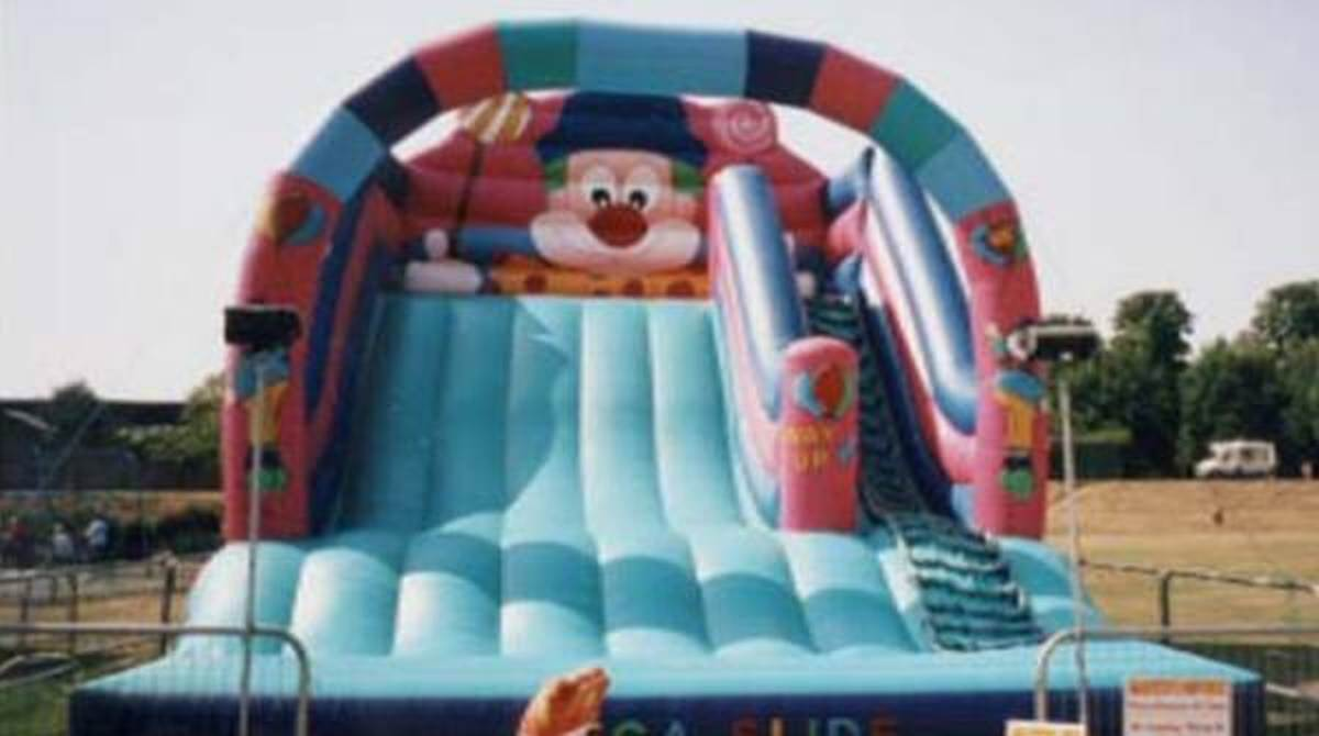 Inflatable Fairground Slide