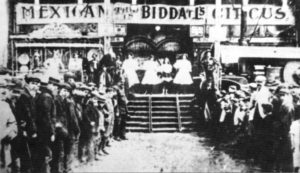 Biddall's Mexican Circus c.1912