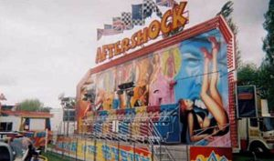 Miami Aftershock fairground ride